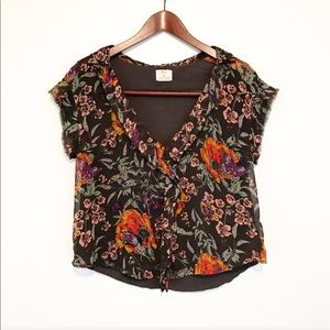 Urban Outfitters Tops - FREE w/Purchase Pins & Needles Floral Blouse